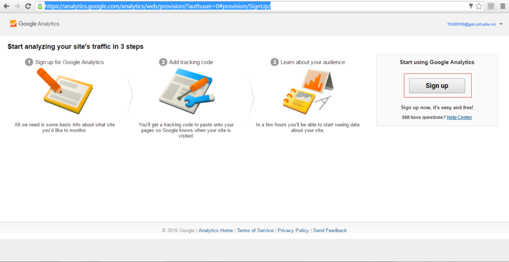 Google Analytics website odoo image 2 sub