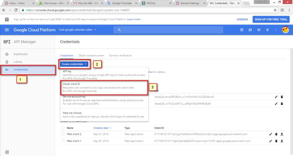 Google Authentication Odoo image 4 sub