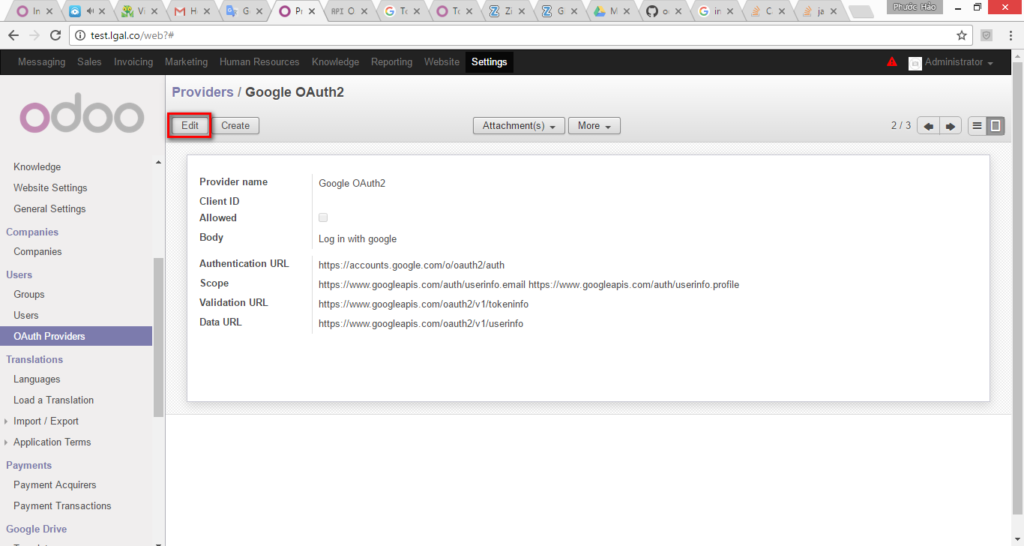 Google Authentication Odoo image 8 sub