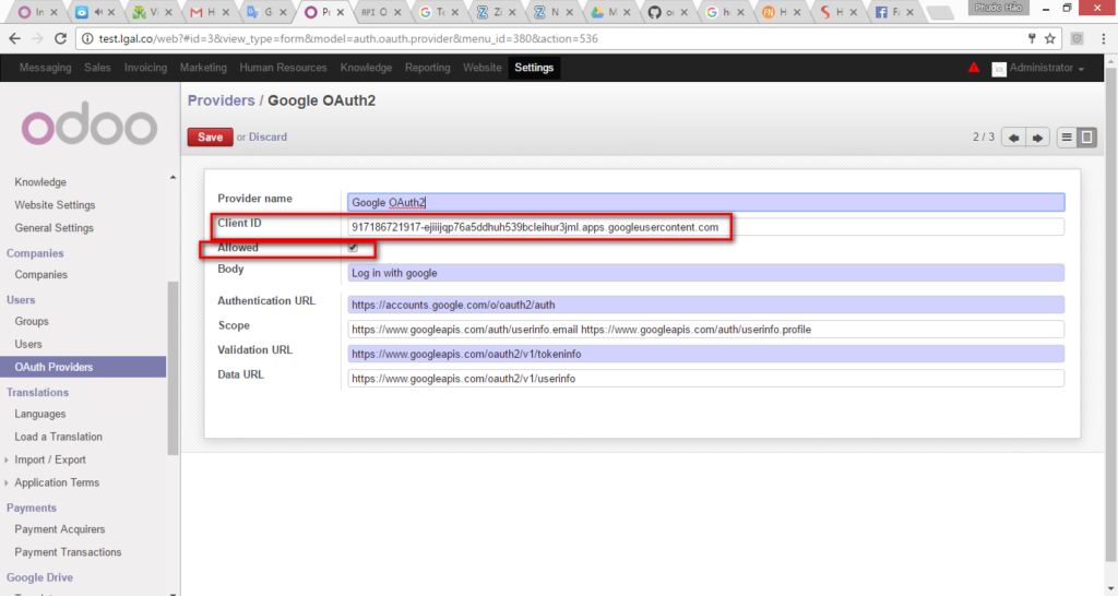 Google Authentication Odoo image 9 sub