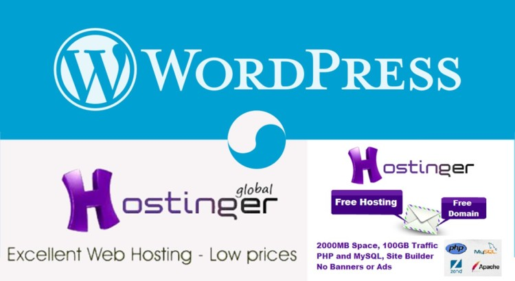 free wordpress hosting banner sub